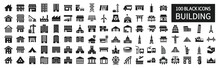Building Icon Set 100 Around The World