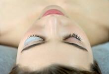 Close Up Of Beauty Model's Fac...