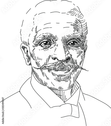 Photo George Washington Carver - american, nerd, mycologist, chemist, educator, teache