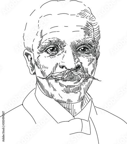 Fotografija George Washington Carver - american, nerd, mycologist, chemist, educator, teache