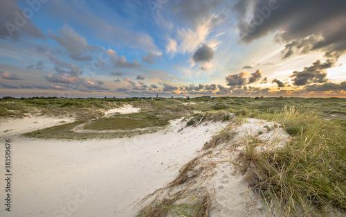 Fotografering Dune landscape on Schiermonnikoog