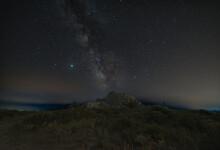 Milky Way Over An Ancient Nura...