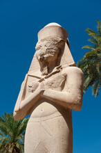 Statue Of Ramesses II, Karnak Temple Great Court, Egypt