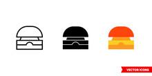 Buzzer Icon Of 3 Types Color, ...