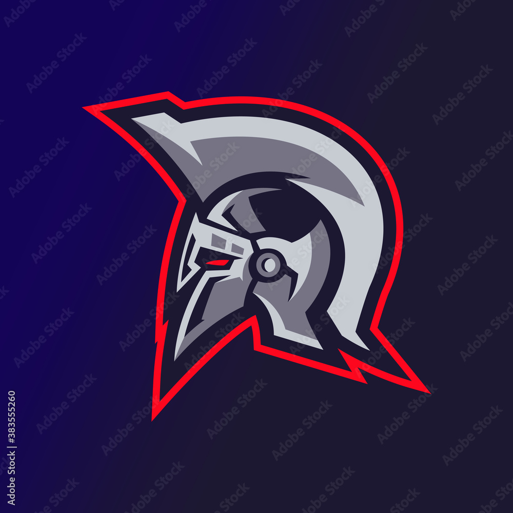 Fototapeta Spartan Esports Logo