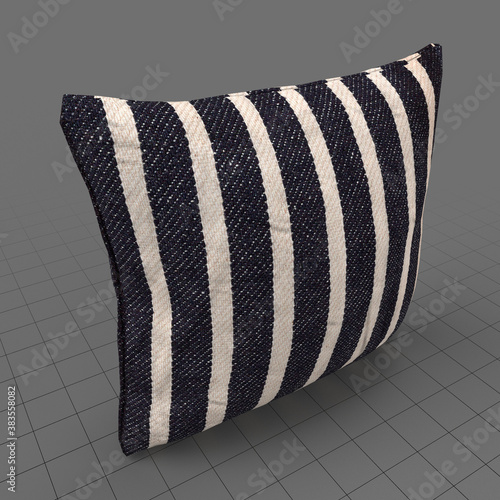 Obraz Striped pattern cushion - fototapety do salonu