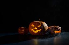 Halloween Card. Jack O Lantern...