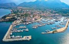 Luftaufnahme Des Dorfes Saint ...