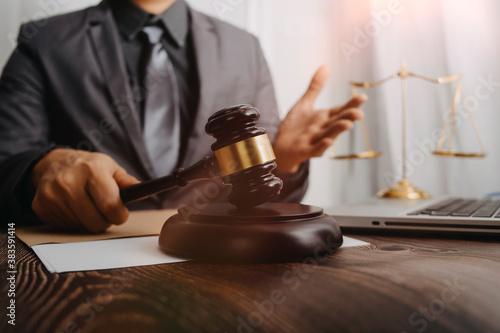 Fotografía Justice and law concept
