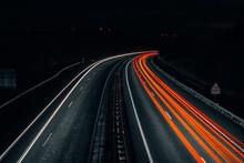 Autoroute De Nuit (pause Longue)