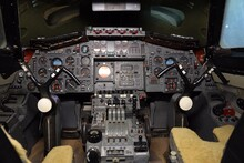 Cockpit Of  Prototype Concorde 002  G-BSST.