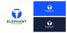 Elephant Design Logo  Vector P...