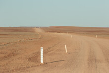 Outback Dirt Road With Flood W...