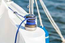 Sailing Boat Yacht Sheet Winch...