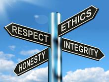 Respect Ethics Honest Integrit...