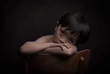 Dark Classic Studio Portrait O...