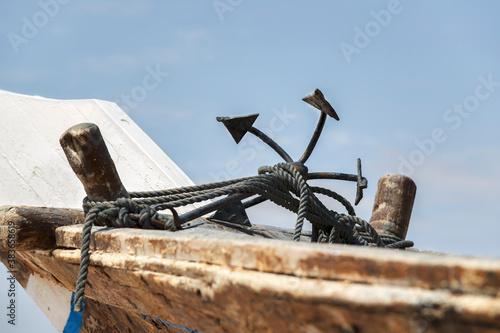 Anchor ship Dhau