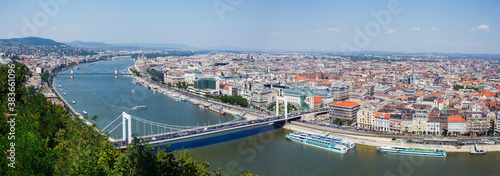 Fotografie, Obraz Panorama of Budapest