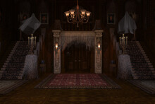 Haunted Mansion Background / Backdrop.