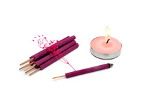 Aroma Sticks And Candle