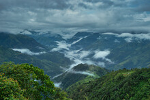 Clouds Settled In A Valley At ...