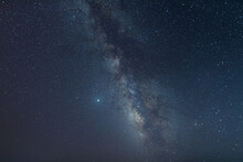 Milky Way Galaxy With Stars An...