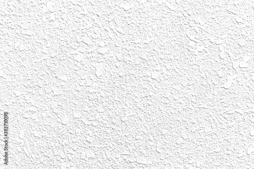 Fototapeta Rough patterned white cement wall texture and seamless background obraz