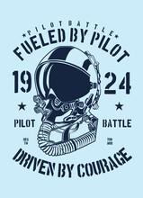 Pilot Battle Helmet