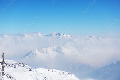 Fototapety, obrazy: top of alps