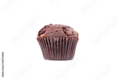 Fresh baked chocolate muffin