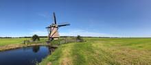 Frisian Landscape Panorama Wit...