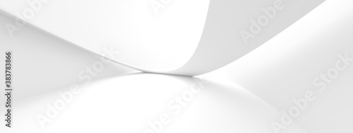 Abstract Office Background. Circular Graphic Design