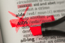 AIDS Definition Marked And Hig...