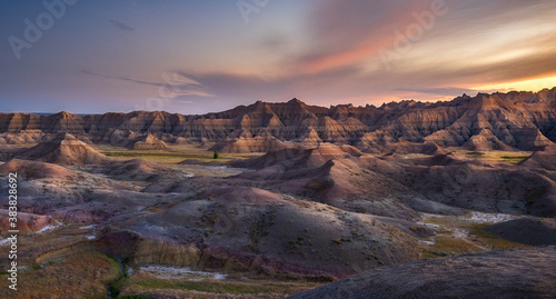Painted Hills in the South Dakota Badlands #383828692