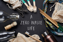 No-plastic Items And Text A Ze...
