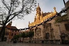 The Church San Juan Del Mercado In The Morning