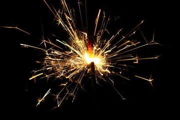 yellow sparkler