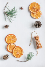 Dried Orange, Anise, Pine Cone...