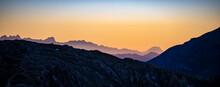 Header / Banner Mountain Shape...