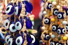 Nazar Amulets In A Turkish Sho...