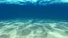 Surface Of The Sand Under Water