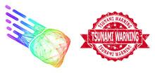 Textured Tsunami Warning Seal ...