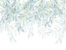 Watercolor Leaves, Wallpaper