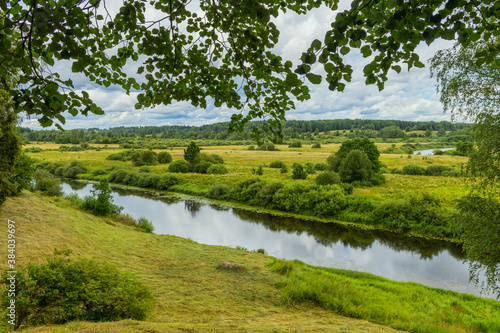 Fototapeta Amazing landscape in a beautiful park obraz na płótnie