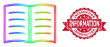 Grunge Information Stamp And R...