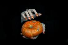 Happy Halloween Theme. Witches...