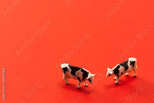 Photo 牛のおもちゃ
