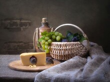 Still Life With Piece Of Chees...