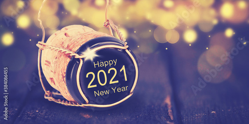 Fotomural glückliches 2021