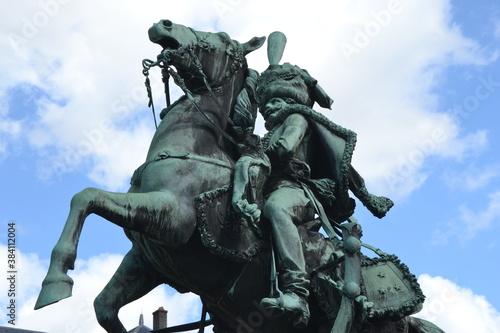 Photo Statue de Lassale dans le parc du château de Lunéville